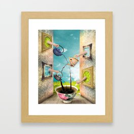 My Mornings... Framed Art Print