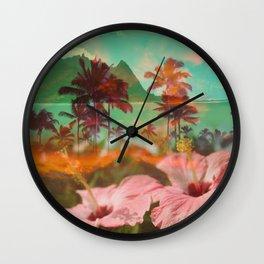 HIBISCUS BEAUTY Wall Clock