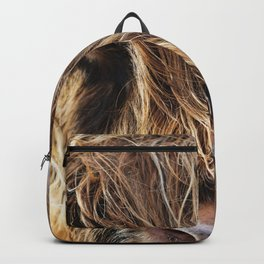 Highland Cow Print II Backpack