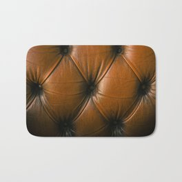 Chesterfield Leather Bath Mat
