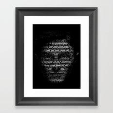 Spells: The good one Framed Art Print