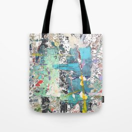 Street abstract graffiti with transparent Tote Bag