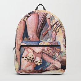 Warrior woman Backpack