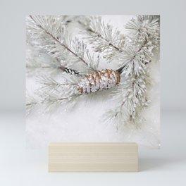 pine cone Mini Art Print