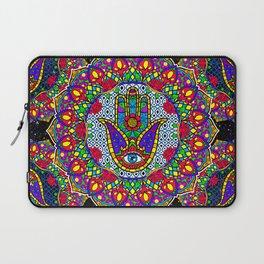 Hamsa Harmony Mandala Laptop Sleeve