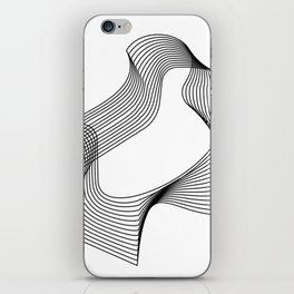 Abstract Wireframe iPhone Skin