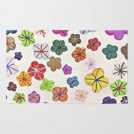 Floral art mille fiori Rug