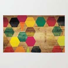 Wood Prints Rug