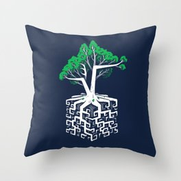 Cube Root Throw Pillow