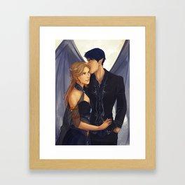 Feyre and Rhysand Framed Art Print