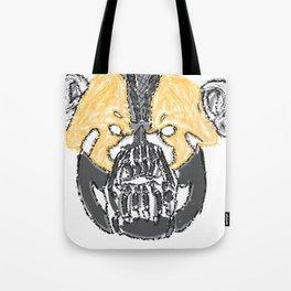 I Will Break You Panda Tote Bag