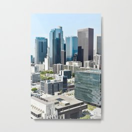 Views from LA City Hall Metal Print
