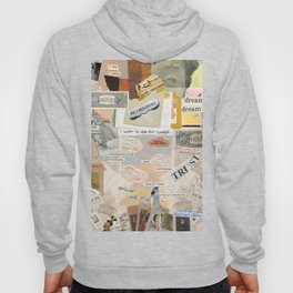 Layers of Old Paper Hoody