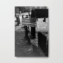 Patriotism Never Fades Metal Print