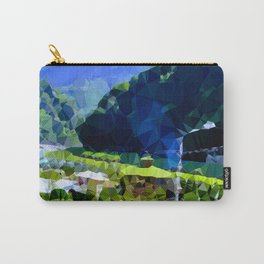 valley and mountains Carry-All Pouch