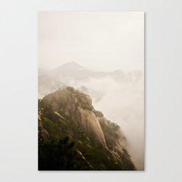 Golden Mountain Canvas Print
