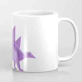 Origami Stegosaurus Coffee Mug