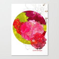 Love & Hope Canvas Print