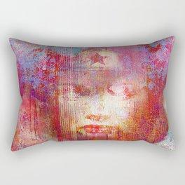 wonder abstract woman Rectangular Pillow