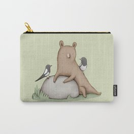 Bear & Birds Carry-All Pouch