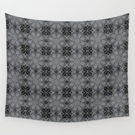 Sharkskin Floral Geometric Wall Tapestry
