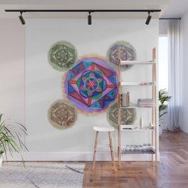 Geometry Mandala Wall Mural