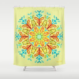Gracias a la Vida (Lima) Shower Curtain