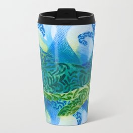 To be a turtle Metal Travel Mug