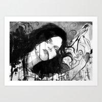renaissance Art Prints featuring renaissance by LouiJoverArt