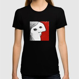 REVERIE : 002 ~ iPad Sketchbook Drawing, Abstract Face T-shirt
