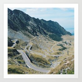 The Best Road in the World Art Print