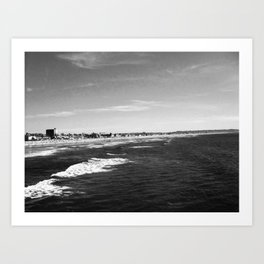 Pacific beach Art Print