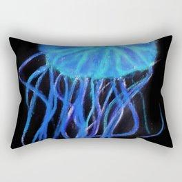 Quiet Blue Jelly Rectangular Pillow
