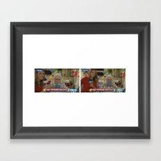 Floss Framed Art Print