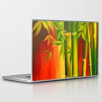 bamboo Laptop & iPad Skins featuring Bamboo by OLHADARCHUK