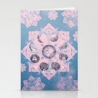 trippy Stationery Cards featuring Trippy by Sara Eshak