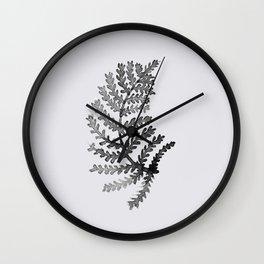 Baesic Mono Floral (Leaf 4) Wall Clock