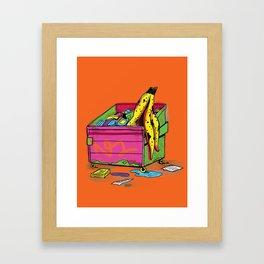 Trash Appeal Framed Art Print