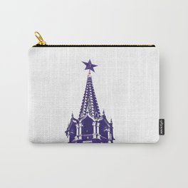 Kremlin Chimes-violet Carry-All Pouch