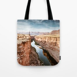 on top of the canyonland Tote Bag