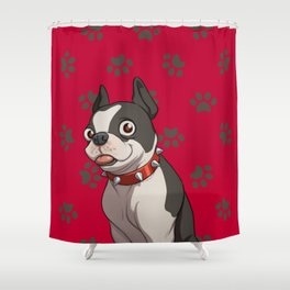 Dream Daddy: Betsy Shower Curtain