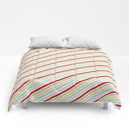 All Striped Comforters