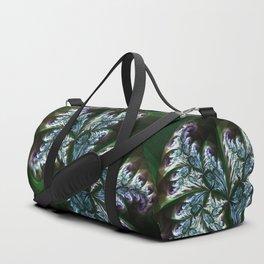 Fern Spider Fractal Duffle Bag