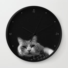 Thats My Cat !! 01 Wall Clock