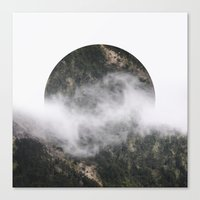 witchoria Canvas Prints featuring Retrograde by witchoria