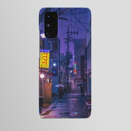 Purple Alleys of Korea Android Case