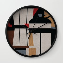 Coffee Methods Wall Clock
