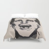 patrick Duvet Covers featuring Patrick by Kayleigh Kirkpatrick