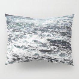 Getting lost in Ocean hues Pillow Sham