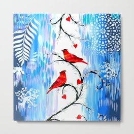 Winter With You Metal Print